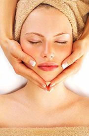 Photo of spa facial treatment